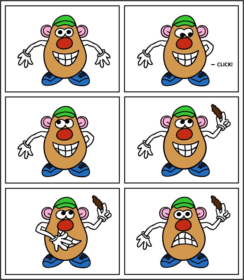 NOT BANAPPLE -- Mr. Potatopoo