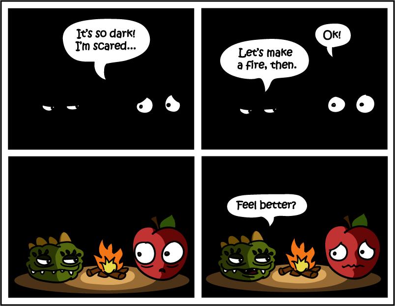 R U Afraid of the Dark?